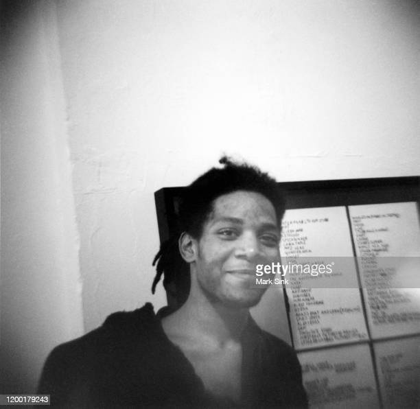 JeanMichel Basquiat at the Vreg Baghoomian Gallery September 5 in New York New York