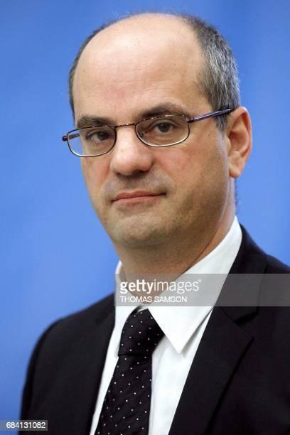 JeanMichel Blanquer directeur général de l'enseignement scolaire prononce le discours de lancement de la campagne 'Agir contre le harcèlement à...