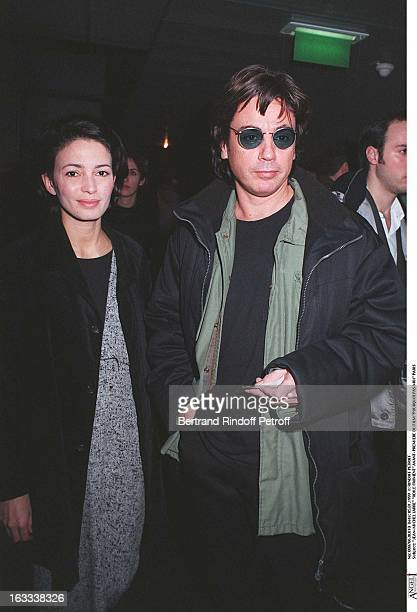 JeanMichel Jarre and Odile Froment at theParis Film Premiere Of Pourquoi Pas Moi