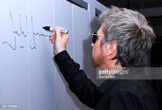JeanMichel Jarre appears to discuss Electronica 2 The Heart of Noise during the AOL BUILD Speaker Series at AOL Studios In New York on May 16 2016 in...