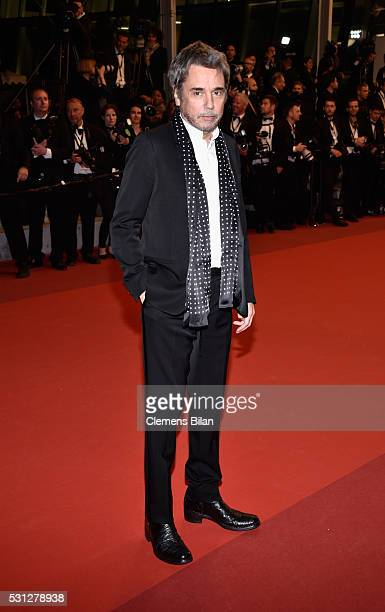 JeanMichel Jarre attends the 'I Daniel Blake' premiere during the 69th annual Cannes Film Festival at the Palais des Festivals on May 13 2016 in...