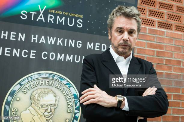 JeanMichel Jarre during the Starmus Festival on June 20 2017 in Trondheim Norway