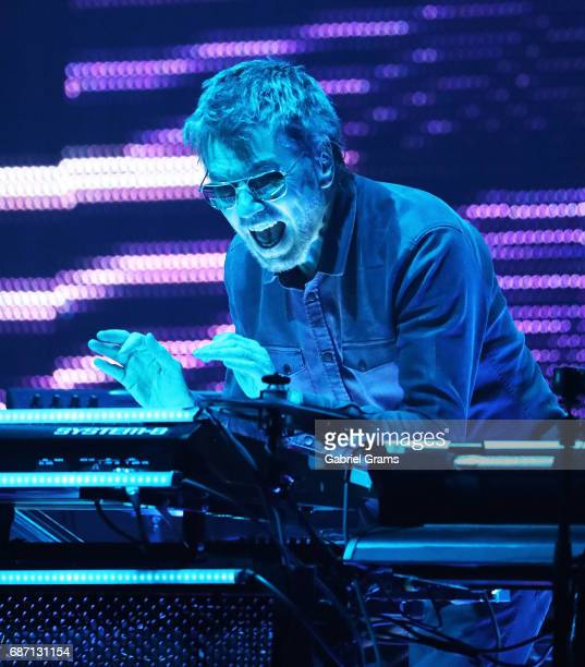 JeanMichel Jarre performs at Auditorium Theatre on May 22 2017 in Chicago Illinois