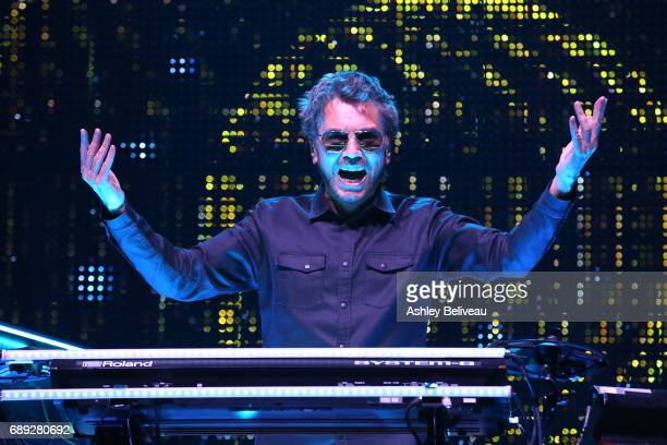 JeanMichel Jarre Performs At Microsoft Theater at Microsoft Theater on May 27 2017 in Los Angeles California