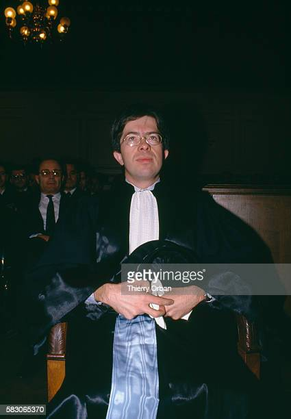 JeanMichel Lambert takes his position as judge at the Tribunal de Grande Instance in BourgenBresse France Lambert presided over the highprofile case...