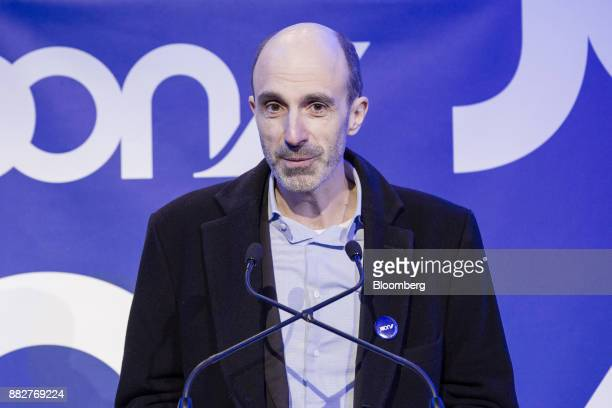 JeanMichel Mathieu chief executive officer of Joon speaks as Air FranceKLM Group launches their lowcost carrier in Paris France on Thursday Nov 30...