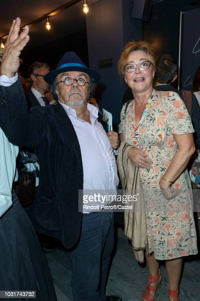 JeanMichel Ribes and Catherine Frot attend La Scala reopens on September 11 2018 in Paris France