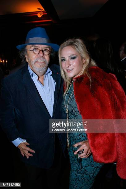 JeanMichel Ribes and Marilou Berry attend the Reopening of the Hotel Barriere Le Fouquet's Paris decorated by Jacques Garcia at Hotel Barriere Le...