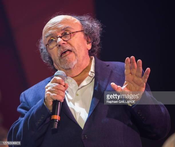 Jean-Michel Ribes lors de la remise des Topor d'Or 2018, événement conçu et réalisé par Jean Michel Ribes, prix de l'inattendu du spectacle vivant au...