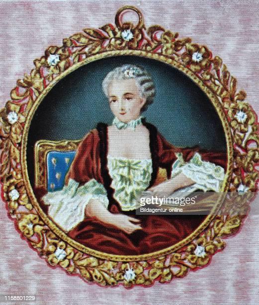 Jeanne Antoinette Poisson, Marquise de Pompadour, 29 December 1721 Ð 15 April 1764, commonly known as Madame de Pompadour, was a member of the French...