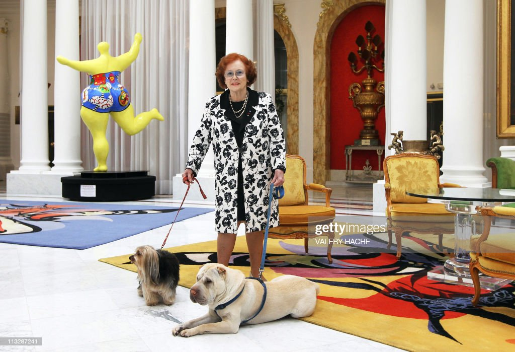 Jeanne Augier, owner of famous hotel The : News Photo