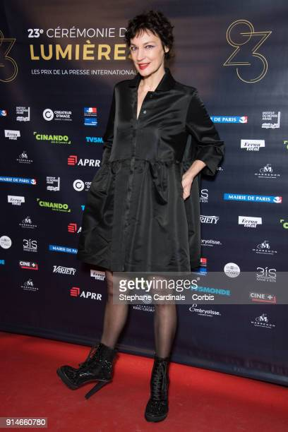 Jeanne Balibar attends the 23rd Lumieres Award Ceremony at Institut du Monde Arabe on February 5 2018 in Paris France