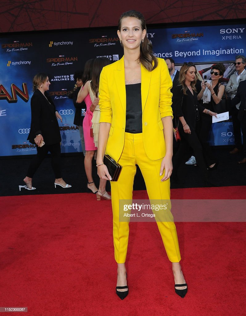 """Premiere Of Sony Pictures' """"Spider-Man Far From Home""""  - Arrivals : News Photo"""