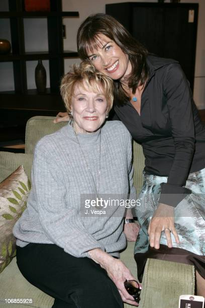 Jeanne Cooper and Amanda Pays during Elle Decor and Metropolitan Home Magazine Celebrate Amanda Pays' New HomeFurnishings Collection at Directions at...
