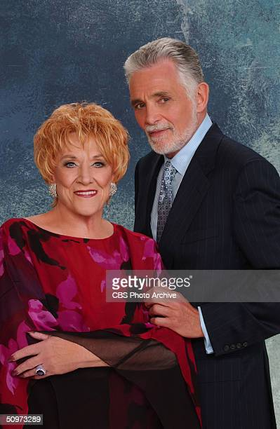 Jeanne Cooper and David Hedison star in the CBS daytime drama The Young and The Restless Image date June 14th 2004