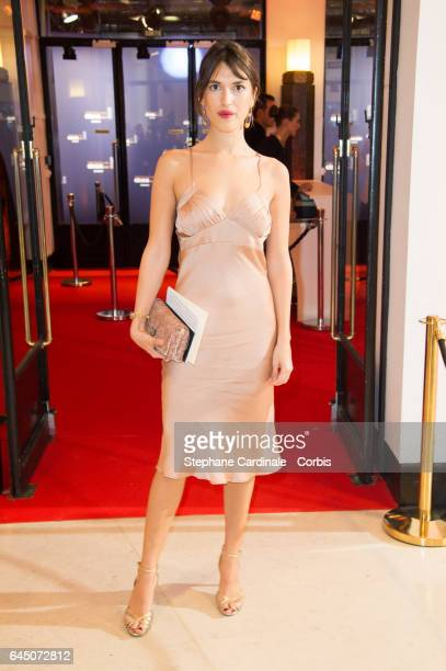 Jeanne Damas arrives at the Cesar Film Awards 2017 at Salle Pleyel on February 24 2017 in Paris France