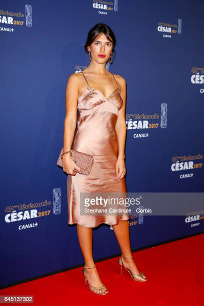 Jeanne Damas arrives at the Cesar Film Awards 2017 ceremony at Salle Pleyel on February 24 2017 in Paris France