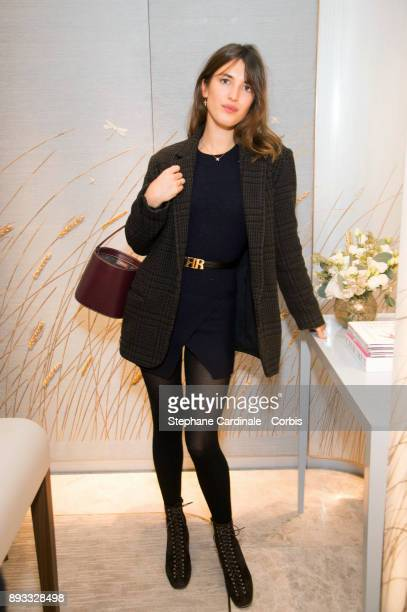 Jeanne Damas attends the Chaumet Boutique Re Opening Rue Francois 1er at Rue Francois 1er on December 14 2017 in Paris France