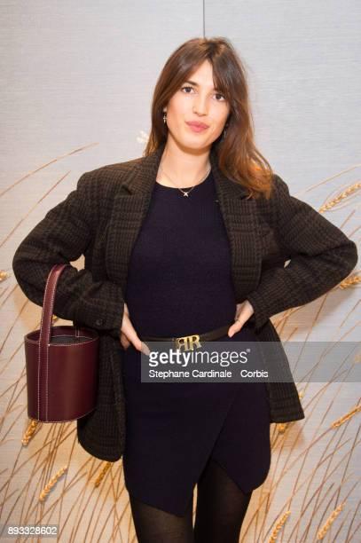 Jeanne Damas attends the Chaumet Boutique Re Opening Rue Francois 1er at Rue Francois 1er on December 14 2017 in Paris France