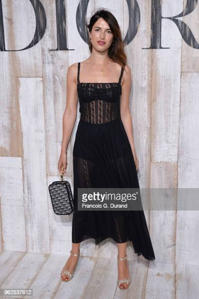 Jeanne Damas attends the Christian Dior Couture S/S19 Cruise Collection Photocall At Grandes Ecuries De Chantillyon May 25 2018 in Chantilly France