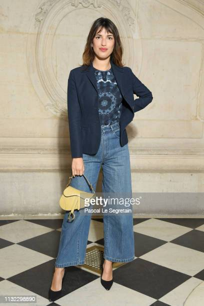 Jeanne Damas attends the Christian Dior show as part of the Paris Fashion Week Womenswear Fall/Winter 2019/2020 on February 26, 2019 in Paris, France.