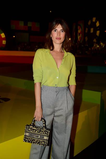 FRA: Dior : Front Row - Paris Fashion Week - Womenswear Spring Summer 2022