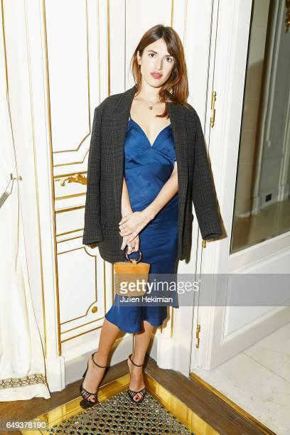 Jeanne Damas attends the Etam Dinner as part of the Paris Fashion Week Womenswear Fall/Winter 2017/2018 on March 7 2017 in Paris France