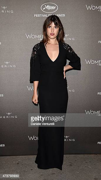 Jeanne Damas attends the Kering Official Cannes Dinner at Place de la Castre on May 17 2015 in Cannes France