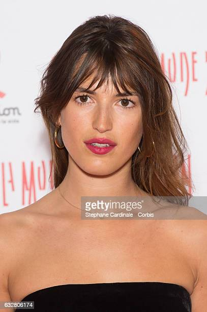 Jeanne Damas attends the Sidaction Gala Dinner 2017 as part of Paris Fashion Week on January 26 2017 in Paris France