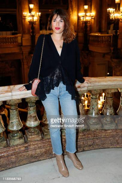 Jeanne Damas attends the Stella McCartney show as part of the Paris Fashion Week Womenswear Fall/Winter 2019/2020 on March 04 2019 in Paris France