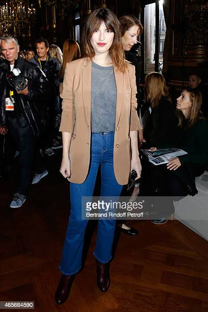 Jeanne Damas attends the Stella McCartney show as part of the Paris Fashion Week Womenswear Fall/Winter 2015/2016 on March 9 2015 in Paris France