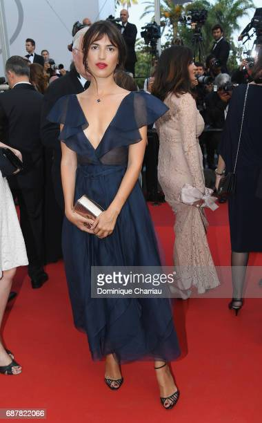 Jeanne Damas attends the The Beguiled screening during the 70th annual Cannes Film Festival at Palais des Festivals on May 24 2017 in Cannes France