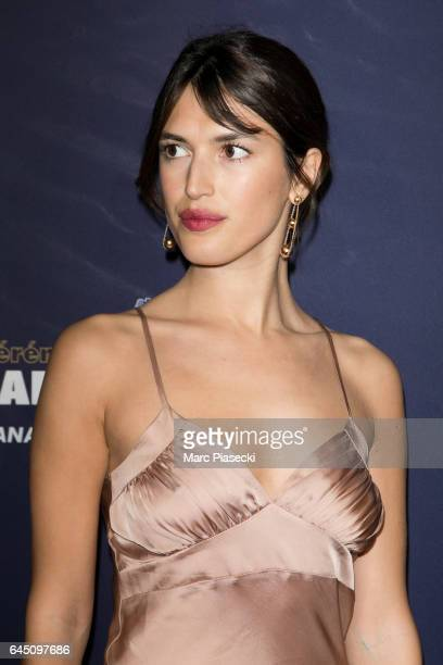 Jeanne Damas attends the the Cesar Film Awards 2017 ceremony at Salle Pleyel on February 24 2017 in Paris France