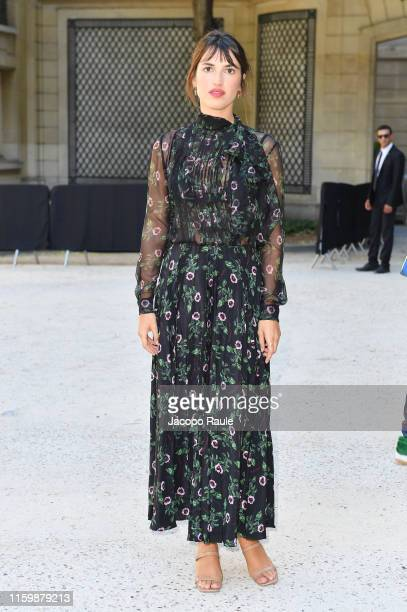 Jeanne Damas attends the Valentino Haute Couture Fall/Winter 2019 2020 show as part of Paris Fashion Week on July 03 2019 in Paris France