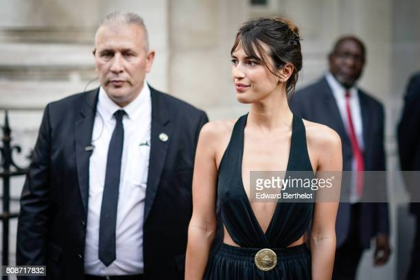 Jeanne Damas attends the Vogue Foundation Dinner during Paris Fashion Week Haute Couture Fall/Winter 20172018 on July 4 2017 in Paris France