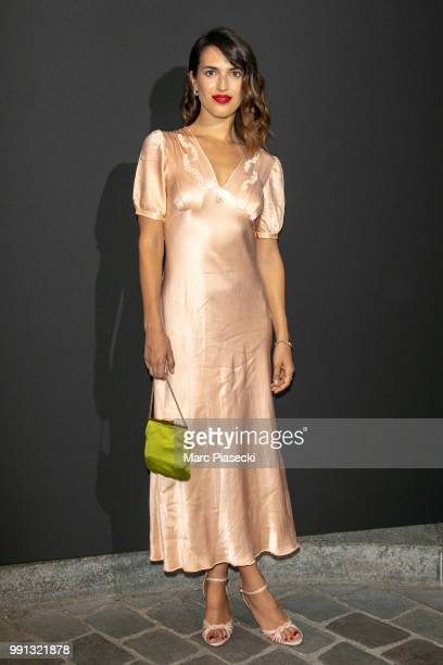 Jeanne Damas attends the Vogue Foundation Dinner Photocall as part of Paris Fashion Week Haute Couture Fall/Winter 20182019 at Musee Galliera on July...