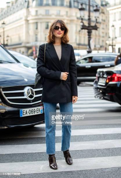 Jeanne Dams seen outside Stella McCartney during Paris Fashion Week Womenswear Spring Summer 2020 on September 30 2019 in Paris France