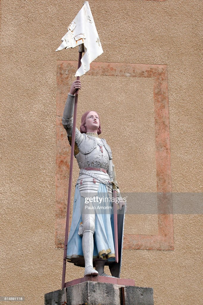 Jeanne d'Arc  Monument in France : Stock Photo