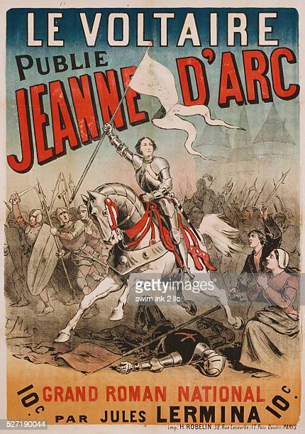 Jeanne d'Arc Poster by E Mas