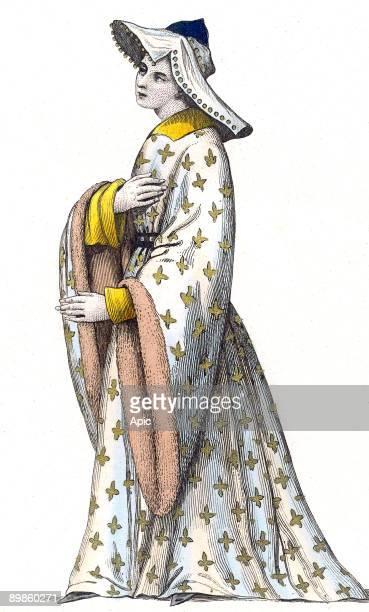 Jeanne De Chalons under the reign of CharlesVII 15th century