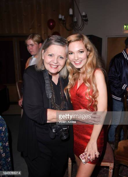 Jeanne Dee and Mozart attend Mozart PUSH YOU HARDER Release Event on September 29 2018 in Westlake Village California