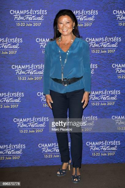 Jeanne d'Hauteserre attends the 6th 'ChampsElysees Film Festival' at Cinema Gaumont Marignan on June 15 2017 in Paris France