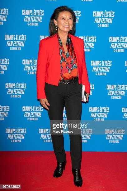 Jeanne d'Hauteserre attends the 7th Champs Elysees Film Festival at Cinema Gaumont Marignan on June 12 2018 in Paris France
