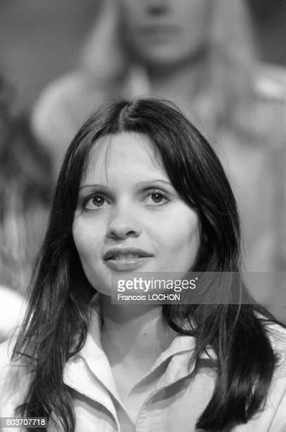 Jeanne Goupil lors d'une émission de télévision à Paris le 22 septembre 1976, en France.