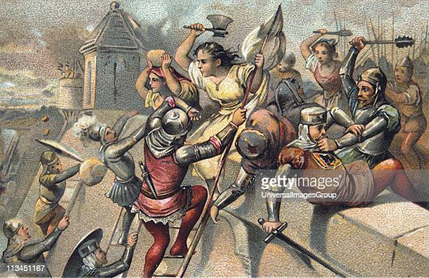 Jeanne Laisne French heroine called Jeann Hachette On 27 June 1472 she prevented Beauvais being captured by forces of Charles the Bold Duke of...
