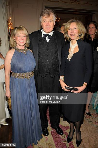 Jeanne Lawrence John Dizard and Rio Wirth attend Venetian Heritage Event Honoring Larry Lovett at St Regis Hotel on March 31 2008 in New York City