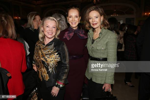 Jeanne Lawrence Stephanie Kreiger andMargo Langenberg attend Hope for Depression Research Foundation's 11th Annual Luncheon Honoring Ashley Judd at...