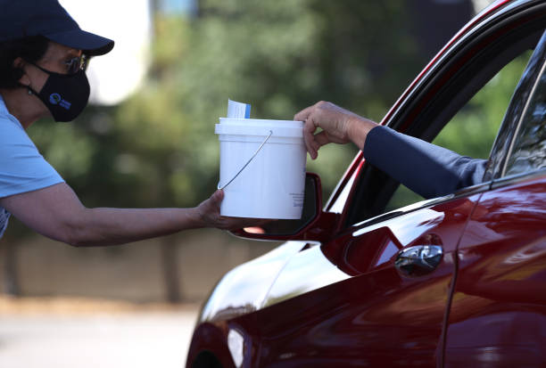CA: Drought Drive Up Event In Bay Area Distributes Free Water Saving Kits