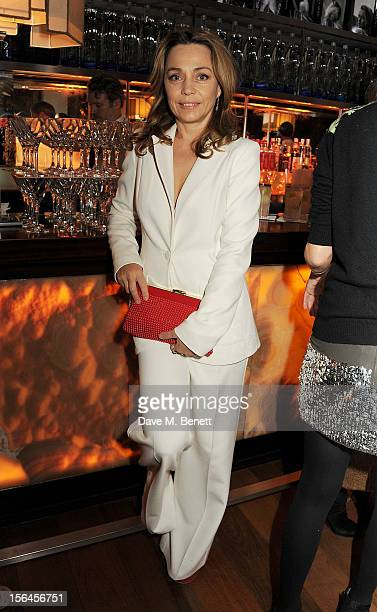 Jeanne Marine attends an after party celebrating the launch of 'Kate The Kate Moss Book' hosted by Marc Jacobs published by Rizzoli New York and...