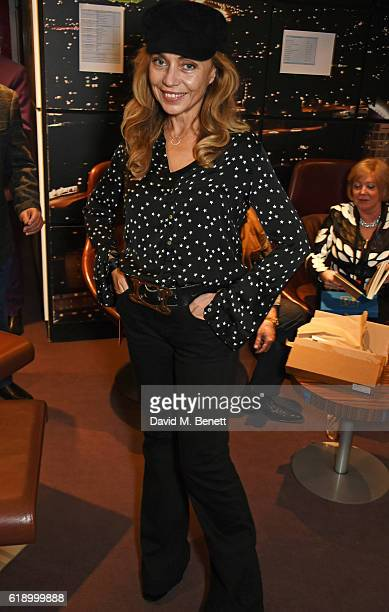 Jeanne Marine attends Bill Wyman's 80th Birthday Gala as part of BluesFest London at Indigo at The O2 Arena on October 28 2016 in London England